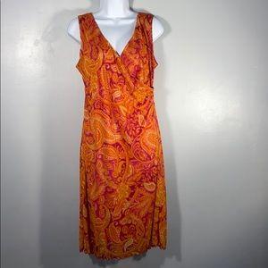 Summer bypass dress, size 12